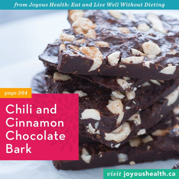 Chili and Cinnamon Chocolate Bark. The perfect treat for your ...