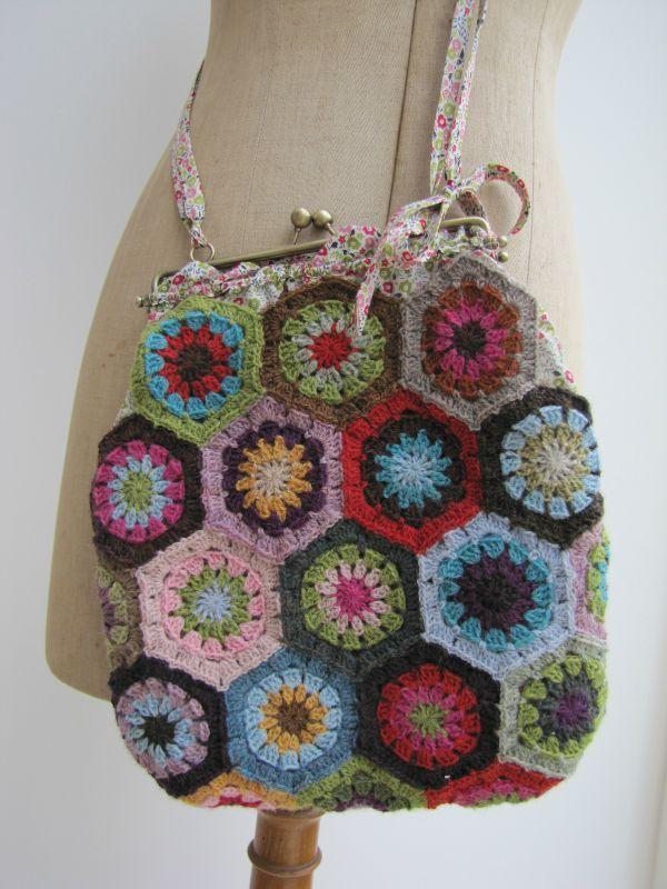 Granny Square Bag : granny square bag Granny Square Chic Love Pinterest