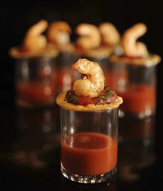 Shrimp Cocktail Bites | Dancetimedj.com | Pinterest