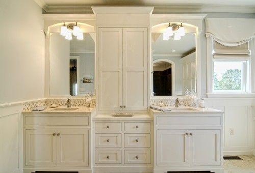 bathroom, his and hers sinks Bathroom ideas Pinterest