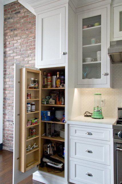15 smart creative storage solutions from our kitchen tours. Black Bedroom Furniture Sets. Home Design Ideas