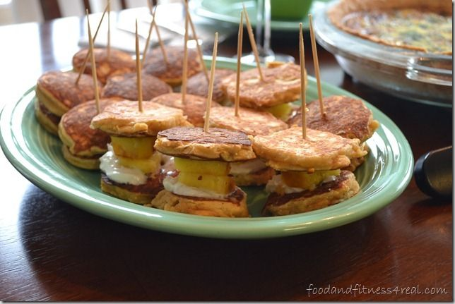 Coconut Flour Pancake Stackers | I'm NUTS for Coconuts!!! | Pinterest