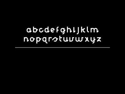 Nougat Font by Jef Schreiber, via Behance