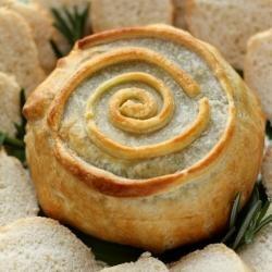 Brie En Croute w/ Figs & Rosemary | Yummy! | Pinterest