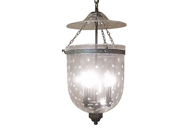 festoni star 3 light bell jar pendant great little item for a hallway. Black Bedroom Furniture Sets. Home Design Ideas