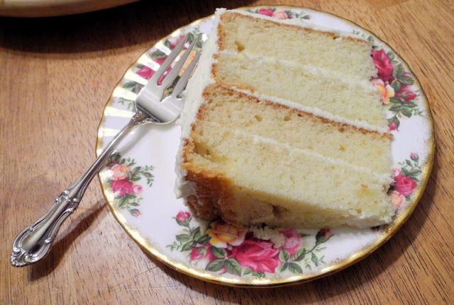 Basic Yellow Cake - From Calculu∫ to Cupcake∫
