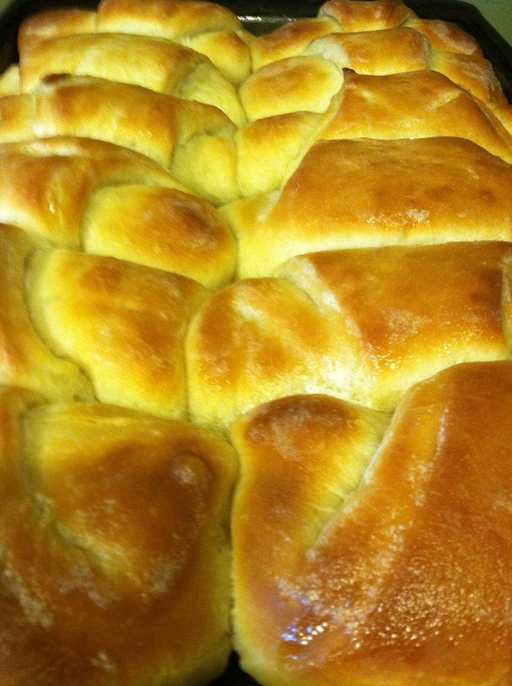 Butter dinner rolls | Home Cooking | Pinterest
