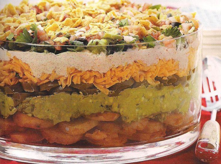 Layered Tex Mex Potato Salad | International & Ethnic Cuisines | Pint ...