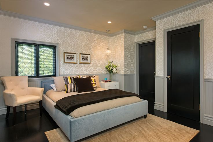 black interior doors by jeff lewis i 39 ve noticed that he usually doe