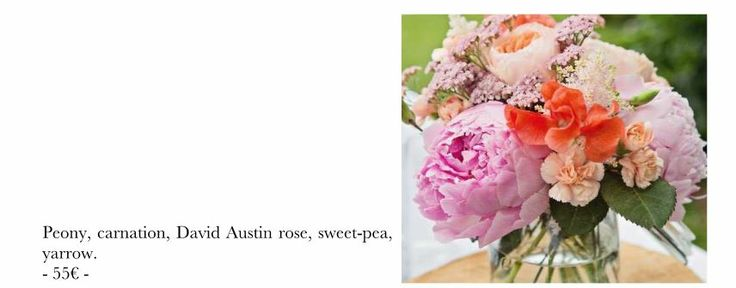 fleur table  Idées Déco Mariage :-)  Pinterest
