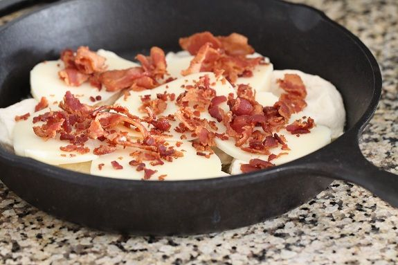"Easy"" Cheesy Bacon Biscuit Pull-Aparts Recipes — Dishmaps"