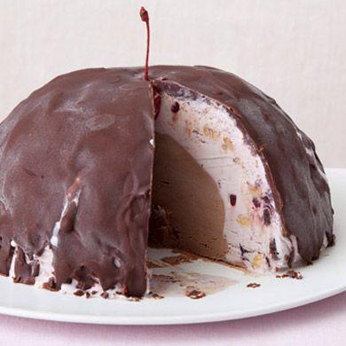 Chocolate Cherry Bombe   Recipe