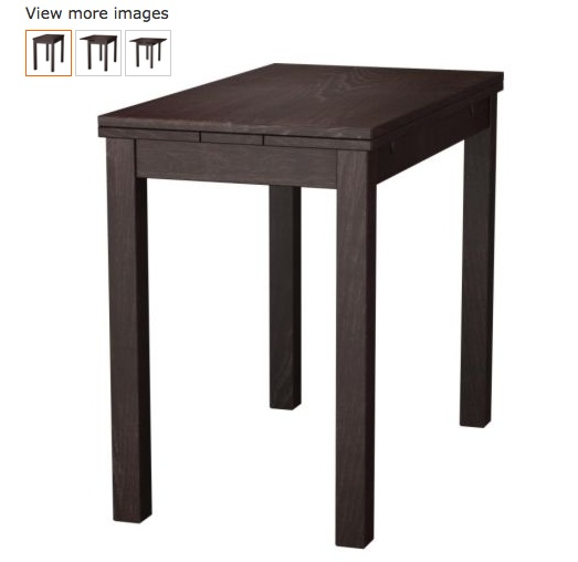 Bjursta Extendable Table Brown