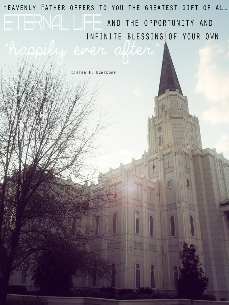 Finally finished! Proud of my quote work. hah! Gotta love the Houston Texas Temple! <3
