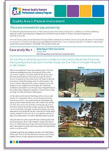 an examination of the quality of early years learning environment Supporting quality improvement early years ws1097(1) 0812 early years foundation stage | supporting quality improvement 18 section part 1 - learning & development 11 the quality of.