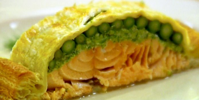 Salmon En Croute | Yummy Funny - Recipes | Pinterest