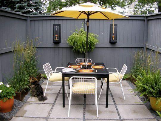 Small Courtyard Design Ideas | Decks,Patios & Courtyards ...
