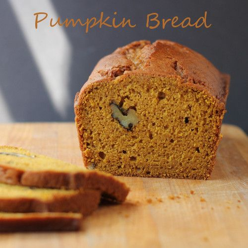 Pumpkin Quick Bread. Perfectly spiced. | Recipes - Sweet Treats | Pin ...