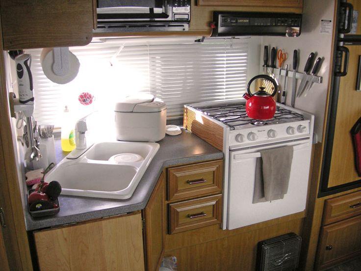 Good information rv kitchen tips for Camper kitchen designs