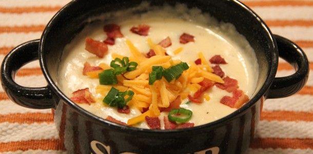Baked Potato Soup | Let's Eat! | Pinterest