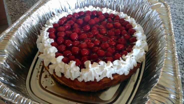 "Cherry Swirl Cheesecake! ""love it! made many times before this is for ..."