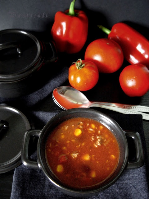szybka zupa meksykanska
