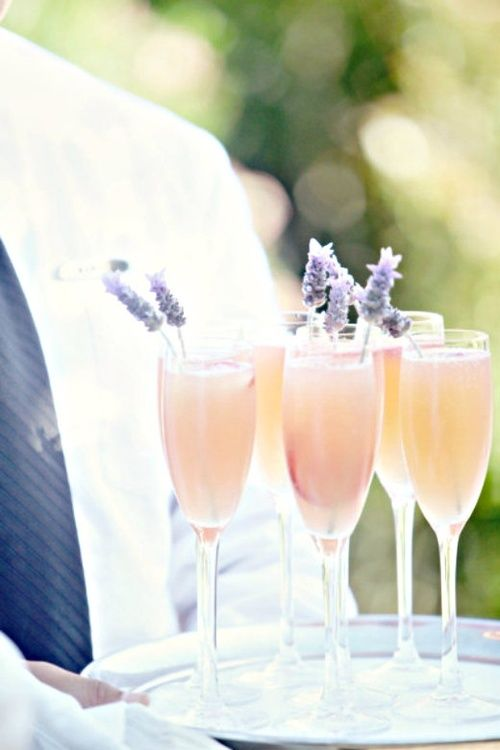 Lavender Infused Drinks | [Entertaining] | Pinterest
