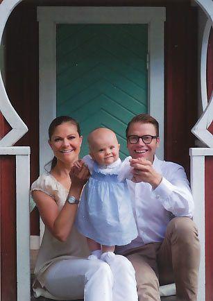 Skandynawskie: Szwecja: Royals Pocztówki z Estelle