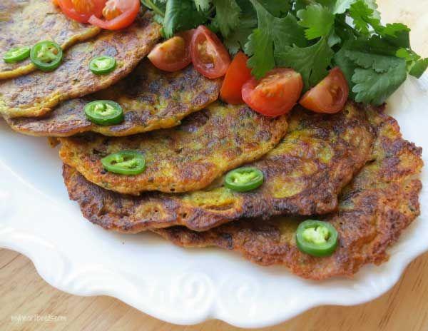 Savory Indian Pancake | My Heart Beets | #paleo