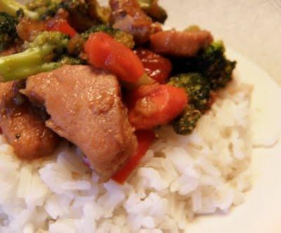 Honey chicken stir-fry | Yum | Pinterest