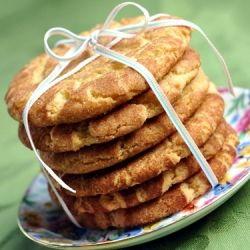 Snickerdoodle Cookies ~ Crackly crisp cinnamon-sugar exterior; buttery ...