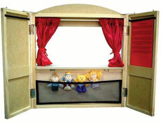 Напольная ширма для кукольного театра своими руками 80