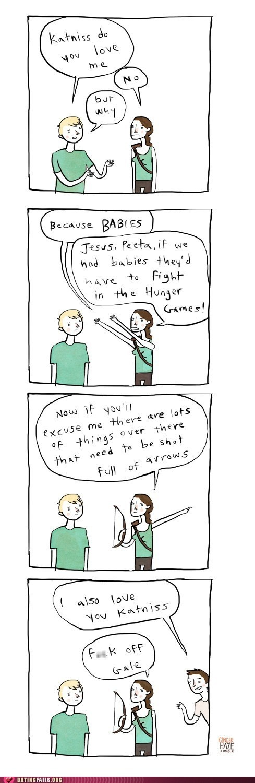 Hunger Games, in a nutshell... but I still loved it!