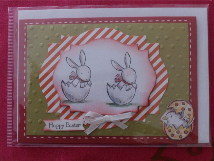 easter card stampin up | cards | Pinterest