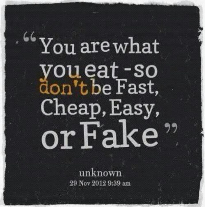 You are what you eat | Awesome | Pinterest