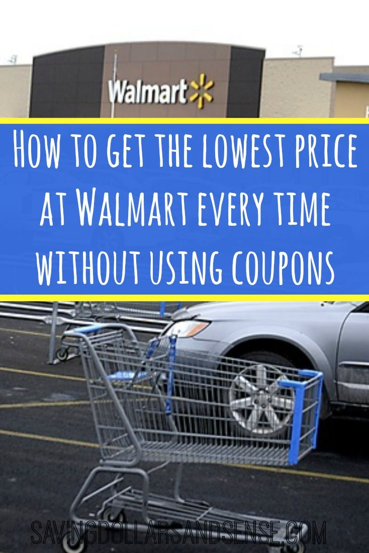 Find out how you can save at walmart and know you are getting the best