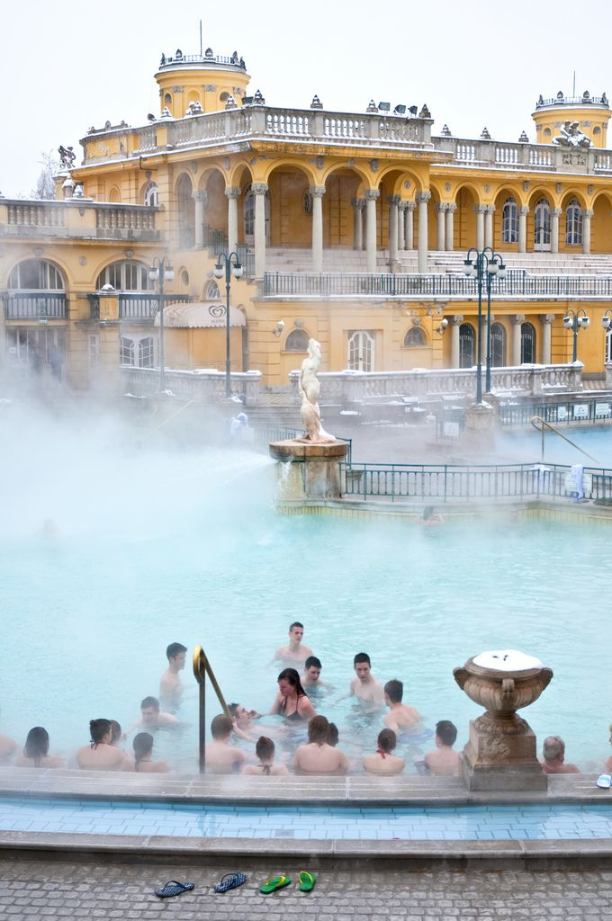Thermal Baths Budapest Hungary Europe Pinterest