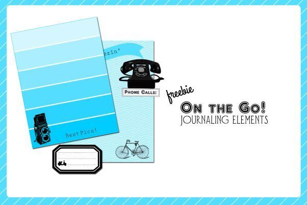 Free Printable Download   On The Go Travel Journaling Cards