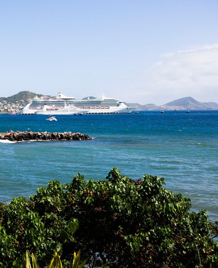 Docked in St. Kitts. #caribbean