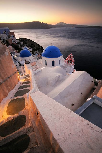 Magical #Sunrise in #Oia, #Santorini, #Greece!