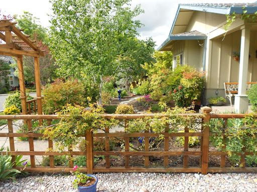 Japanese low fence outdoor pinterest for Low garden fence ideas
