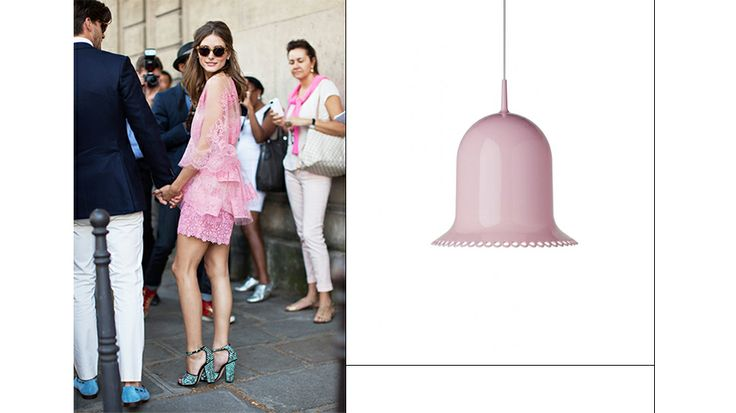 Lolita Pendant by Moooi // Home inspiration from Olivia Palermo #home #decor #olivapalermo