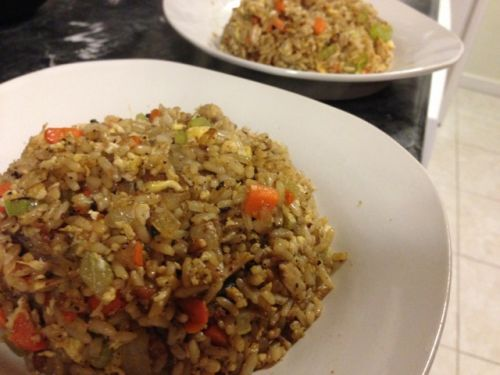 Chicken Fried Rice, Filipino Sinangag (Garlic Fried Rice) Inspired ...