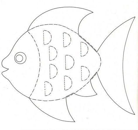 Рыбка шаблоны по технологии