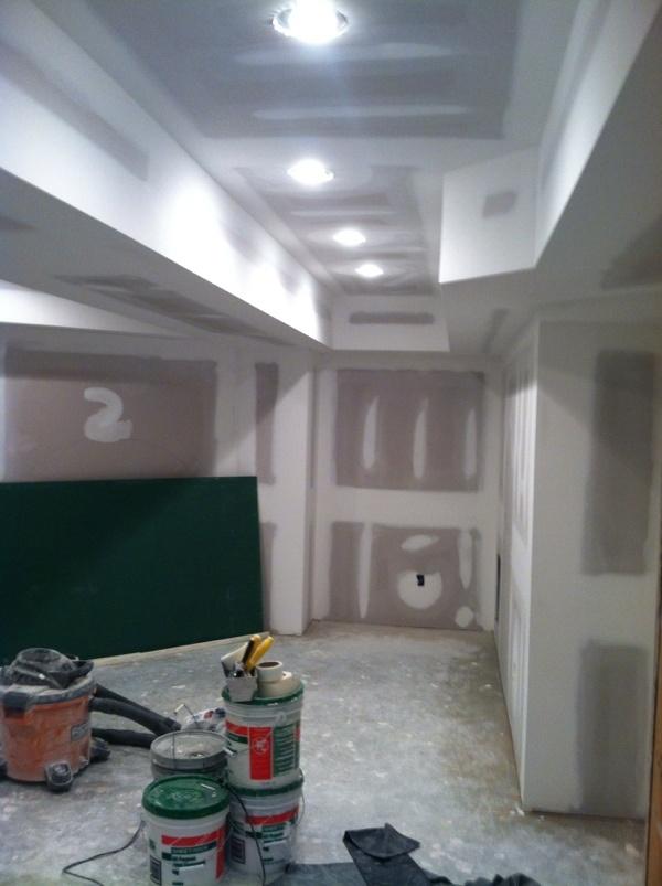 basement at sheet rock stage basement pinterest