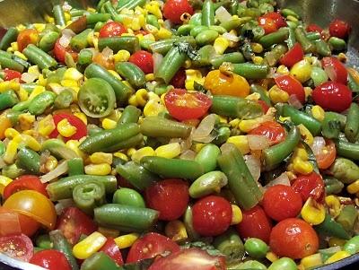 Spicy Edamame Succotash Salad Recipes — Dishmaps