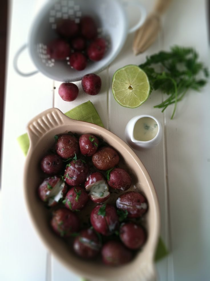 Potatoes with Yogurt Sauce | Recipe