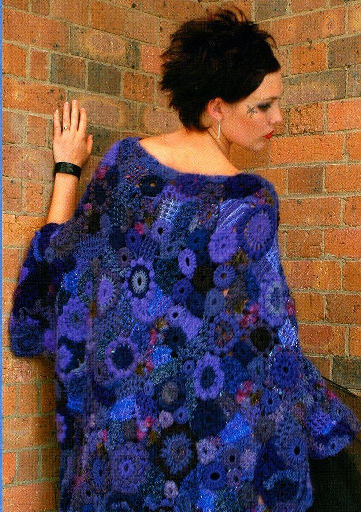 Knitting Wearable Art : Freeform knitting crochet wearable art yarn works