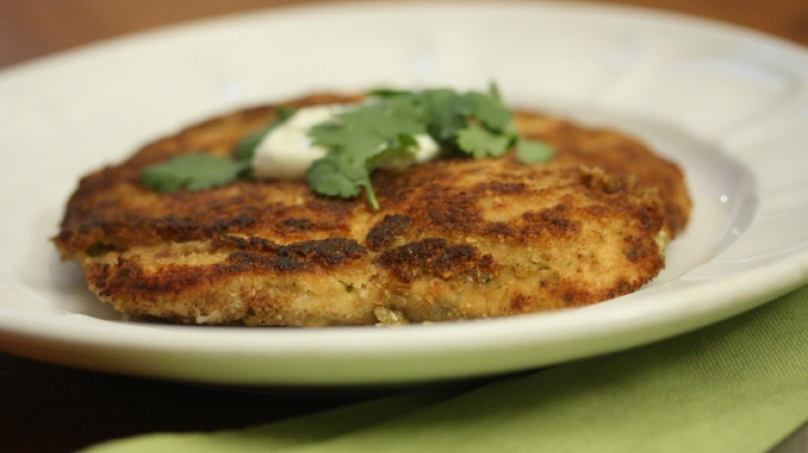 Cilantro Chicken Milanese with Raita | Food - Chicken | Pinterest