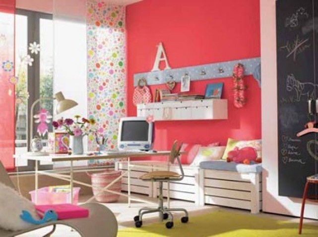 Pin by fr d rique d on kids room chambre enfant pinterest for Chambre de fille 14 ans